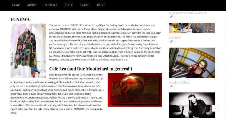 Simo Neri - article in ESCAPADE magazine - 1