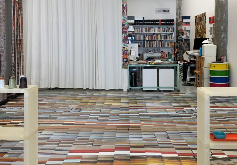 Simo Neri - (English) BETWEEN THE LINES, a new installation in studio 308 - 3