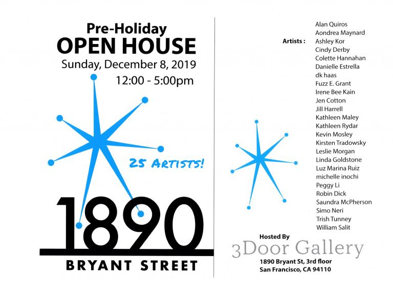 Simo Neri - Pre-Holiday OPEN HOUSE at Bryant Street Studios - 1