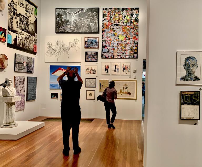 Simo Neri - The de Young Open exhibition - 2