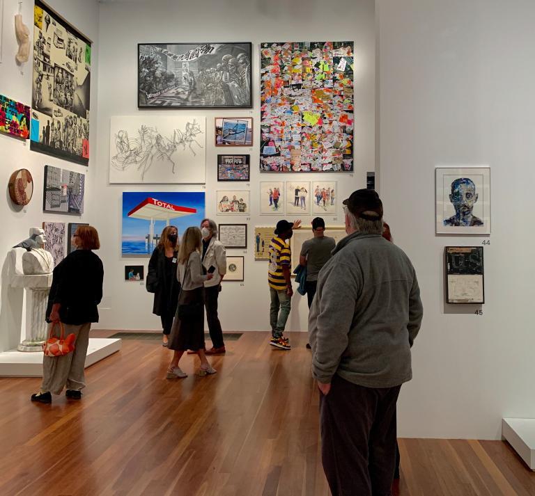 Simo Neri - The de Young Open exhibition - 3