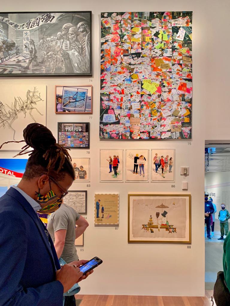 Simo Neri - The de Young Open exhibition - 4