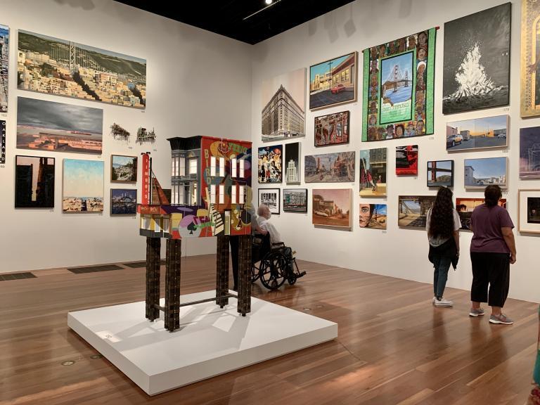 Simo Neri - The de Young Open exhibition - 6