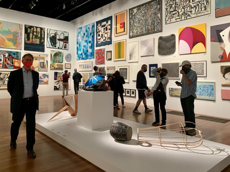 Simo Neri - The de Young Open exhibition - 7