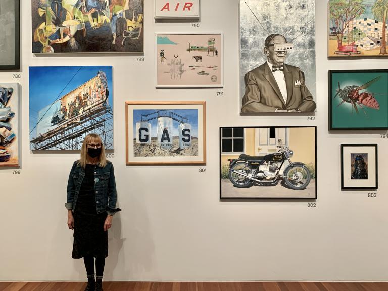 Simo Neri - The de Young Open exhibition - 8