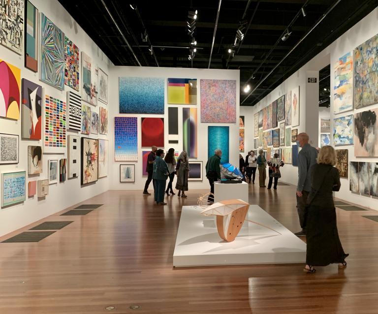 Simo Neri - The de Young Open exhibition - 11