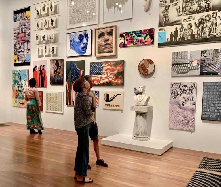 Simo Neri - The de Young Open exhibition - 13