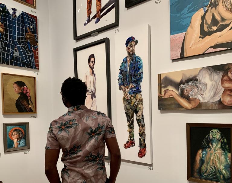 Simo Neri - The de Young Open exhibition - 14