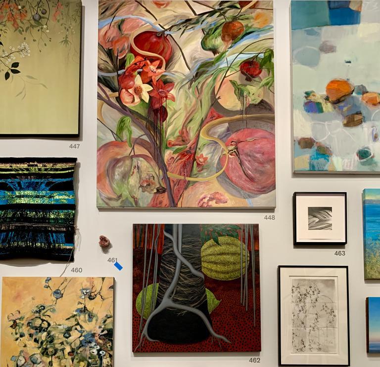 Simo Neri - The de Young Open exhibition - 15