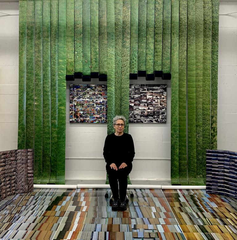 Simo Neri - Grassroots Temple 2021, new installation in studio 308 - 1