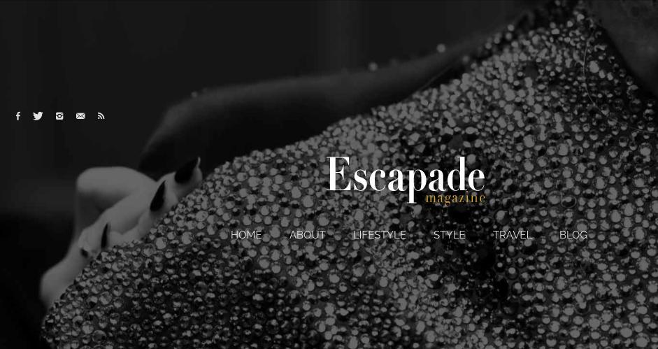 Simo Neri - article in ESCAPADE magazine